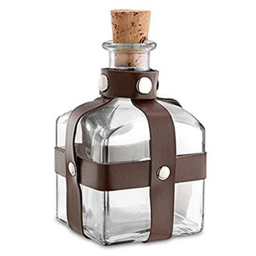 Epic Products Potion Glass Bottle, Brown