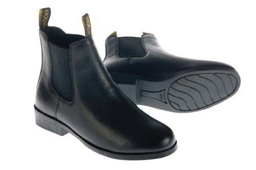 Saxon Bottes d'équitation pour enfant Noir Noir