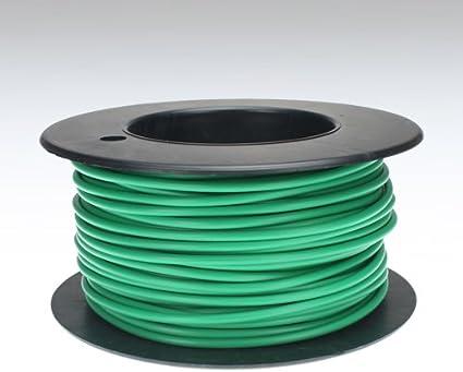 Kabel 2,5 qmm grün 25m Litze Leitung Fahrzeug Auto