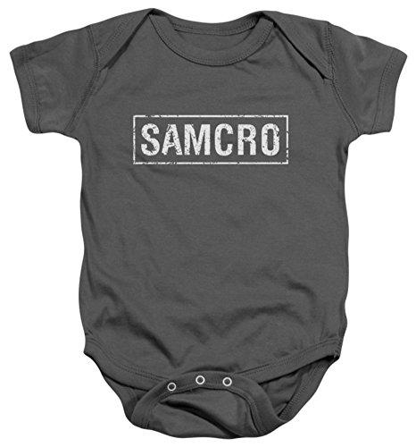 Infant: Sons Of Anarchy - Samcro Infant Onesie Size 24 Mos