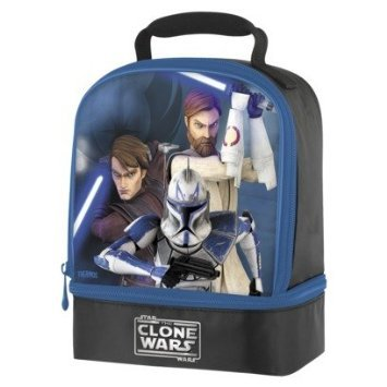 Star wars the Clone Wars Insulated Lunch Bag  sc 1 st  Amazon.com & Amazon.com: Star wars the Clone Wars Insulated Lunch Bag: Reusable ... Aboutintivar.Com