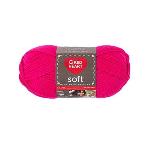 Yarn Red Heart Soft 9273 Very Pink 5 oz - 141 grams - 256 yards