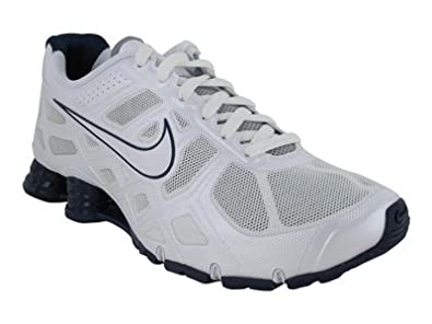 huge selection of 352ac ea21c Amazon.com | Nike Men's Shox Turbo+ 12 Running Shoe Blue ...
