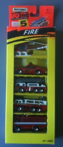 MATCHBOX 1994 5-Pack - Fire by Tyco Toys Inc