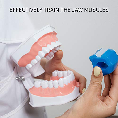 Jawline Exerciser Jaw, Face, and Neck Exerciser - Define Your Jawline, Slim and Tone Your Face, Look Younger and Healthier - Helps Reduce Stress and Cravings - Facial Exerciser