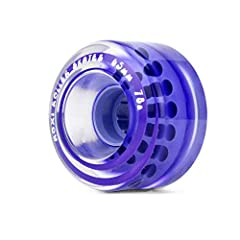 Moxi Original Classic Outdoor Roller Skate Wheels (4-Pack)              The Moxi Original Classic urethane outdoor wheels make riding anything from sidewalk to pavement smooth and fun. These 40mm x 65mm wheels are available in...