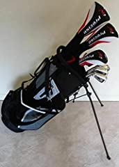 """Brand New Tall Mens Left Handed M5 Complete Golf Set. If you're a taller guy and looking for a great set that will actually fit you, then look no further. All clubs in this set are 1"""" longer than standard men's length, and perfect for a talle..."""