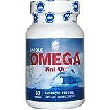 Cheap Unique Omega Antarctic Krill Oil 60 Softgels
