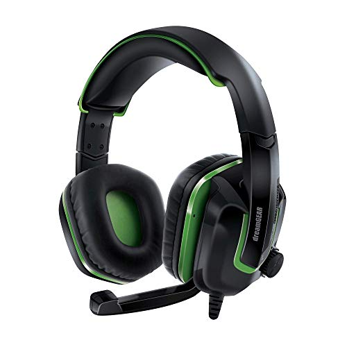 DreamGEAR GRX-440 Wired Headset for Xbox One - Black/Green