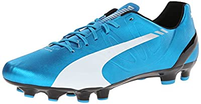 PUMA Men's Evospeed 4.3 Firm-Ground Soccer Shoe