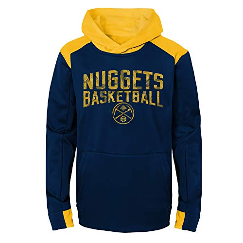 Nuggets Yellow Warm Up Jacket: Denver Nuggets Youth Sweatshirt, Youth Denver Nuggets