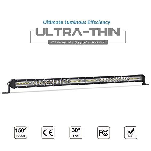 LED Light Bar, Rigidhorse 20 inch 200W Spot & Flood Beam Com