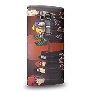 Case88 Premium Designs Naruto Akatsuki Carcasa/Funda dura para el LG G4