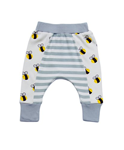 Cat & Dogma Certified Organic Infant/Baby Clothing Pants Bee (12-18 Months)