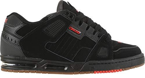 Globe Sabre Skate Shoes Black/Charcoal/Red Mens Sz 13