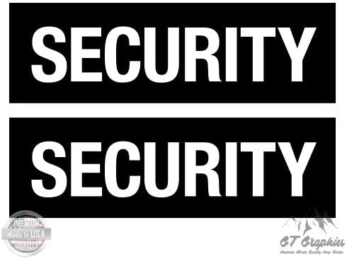 for Truck Car Cornhole Board Large Size Vinyl Stickers Decals GT Graphics Security Set of 2