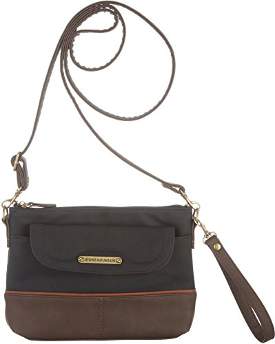 stone-mountain-three-bagger-handbag-one-size-black-brown