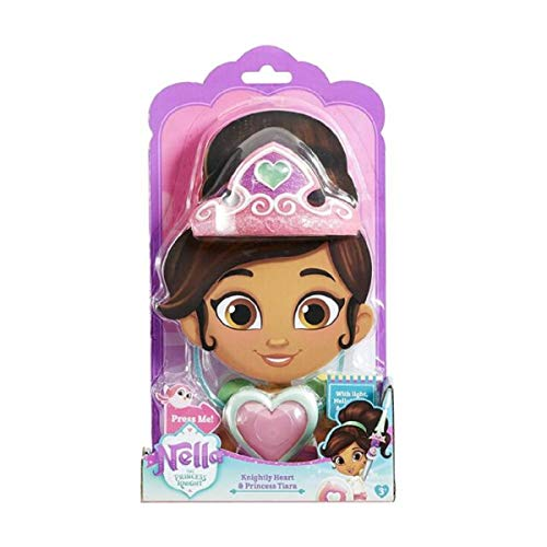 Nickelod Princess Nella Knightly Heart and Tiara -
