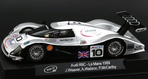Audi R8C LeMans 1999 Slot-it, 1:32 Slotcar CA12c Slot.it
