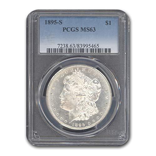 1895 S Morgan Dollar MS-63 PCGS $1 MS-63 PCGS