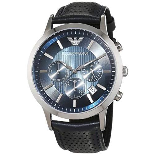 Emporio Armani Watches Emporio Armani Mens AR 2473 Black Renato Japan