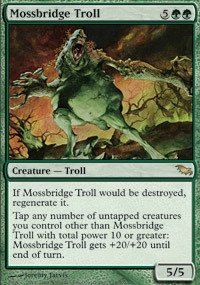 Gathering Shadowmoor Single Card - Magic: the Gathering - Mossbridge Troll - Shadowmoor