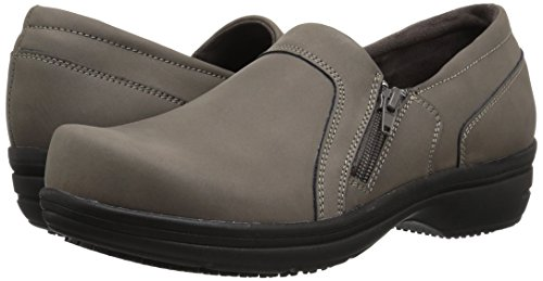 Easy Works Women's Bentley Health Care Professional Shoe, Grey Nubuck, 7.5 W US by Easy Works (Image #6)