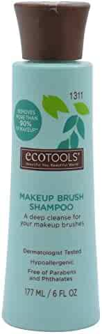 Ecotools Makeup Brush Cleansing Shampoo, 6 Ounce