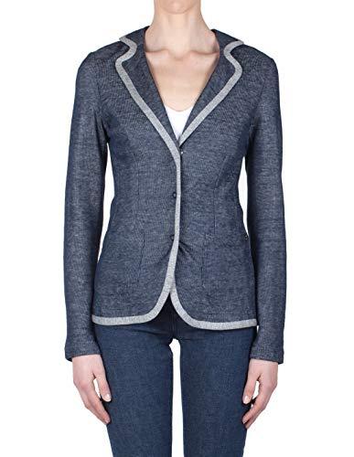 Ottod'ame - Jacket woman Grey/Blue NWS EG5133 GIACC Primavera/Estate 2019 - Made in Italy
