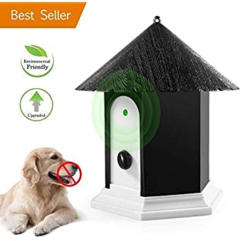 Amazon.com : Flexzion Ultrasonic Dog Bark Control Outdoor