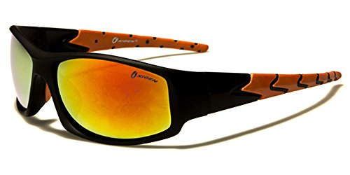 Oxigen - Lunettes de soleil - Homme multicolore Multicoloured Black/orange/orange lens