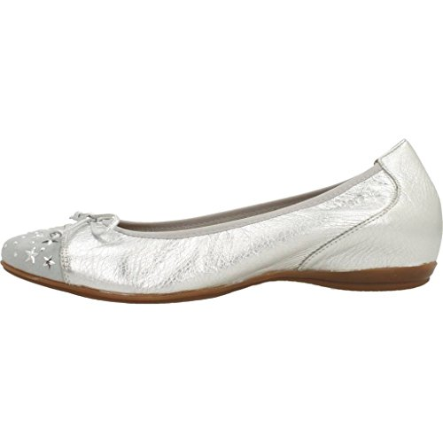 Plateado Wonders A3090 Bailarina Mujer Modelo Zapatos Marca Wonders Para Color Mujer Plateado qAHwnIxzZ