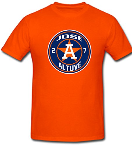 Silo Shirts ORANGE Jose Altuve Houston