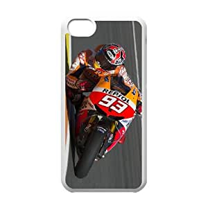 iPhone 5c Cell Phone Case White Marc Marquez V8398458