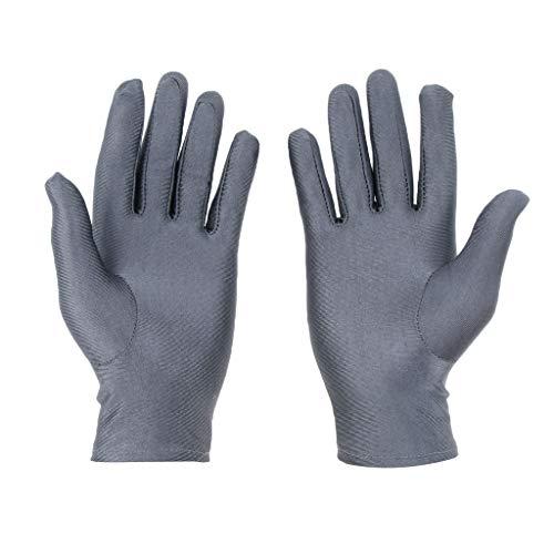 封建感謝祭読みやすいFenteer 短い グローブ 手袋 カバー ドレス 紫外線遮断 行事 パーティー 弾性 全4色