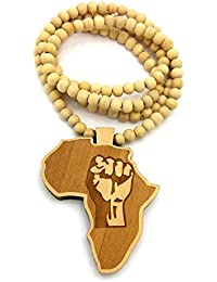 Amazoncom Other Materials Wood Necklaces Jewelry Clothing
