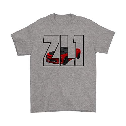 Camaro ZL1 Chevy Muscle Car T-Shirt Sport Grey (Camaro Zl1 Chevy)