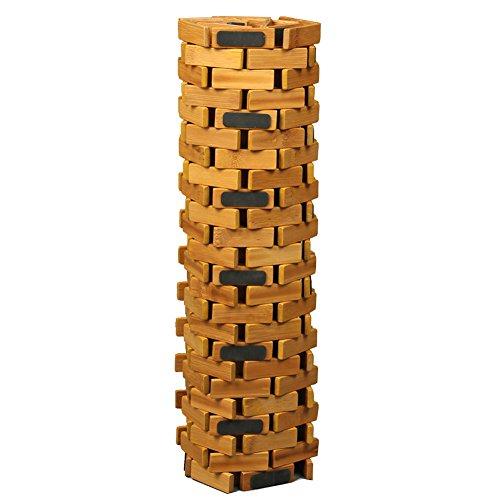 HANKEY Luxury Multipurpose Bamboo Bath Mat For Shower Spa Sauna with Non Slip Feet   Indoor Outdoor Use for Kitchen Bedroom Bathroom Toilet Doormat Pet Mat   70 x 50 cm (27.6 x 19.7) by HANKEY (Image #6)