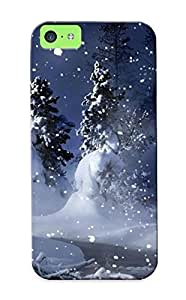 linJUN FENGAwesome JOENIrP3542ucnVU Trolleyscribe Defender Tpu Hard Case Cover For iphone 6 plus 5.5 inch- Nature Landscapes Christmas Trees Forest Snowing Snowflakes Winter Snow Seasons Mountains White