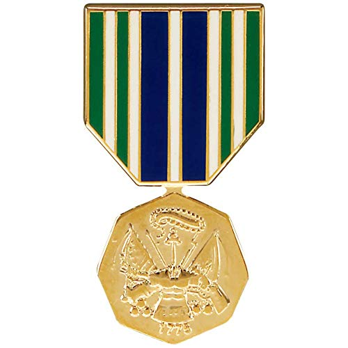 Medals of America Army Achievement Medal Hat Pin Multicolored