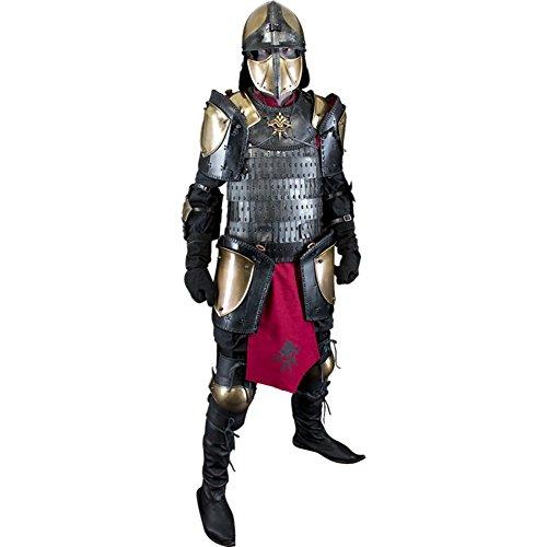 Samurai Armor Costume (Armor Venue: Ratio Heavy Full Suit of Armor - LARP Samurai Fantasy Costume Large)