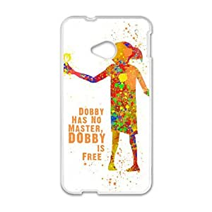 Dobby HTC One M7 Cell Phone Case White PhoneAccessory LSX_819473