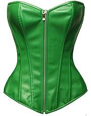 Bslingerie® dames PVC wetlook korset