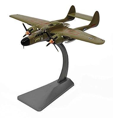 "P-61A Black Widow 1/72 Die Cast Model ""42-25502,"" ""Nocturnal Nemesis,"" 421st NFS, Lt. Dave Corts"