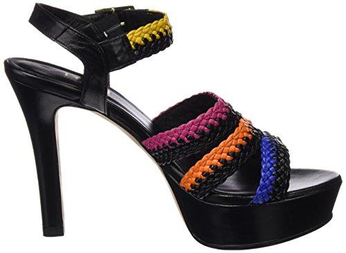 Lodi Xincas Africano Femme Sweet Sandales lai Plateforme Noir Multicolore nC1SFp