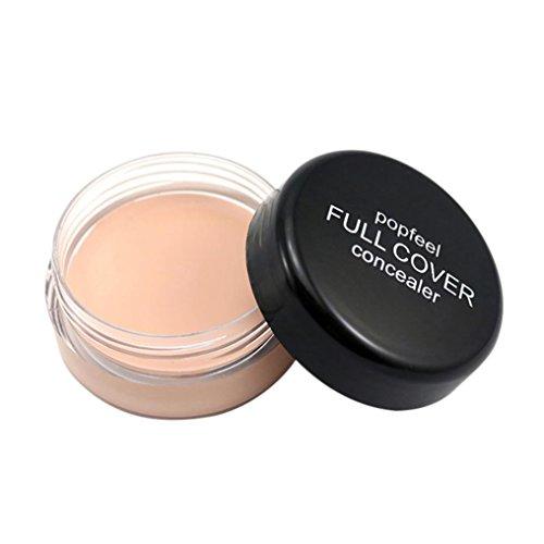 Ecosin Waterproof Full Cover Concealer Professional Face Makeup Concealer Water-Resistant Face Cream Makeup Concealer Cosmetics (A)