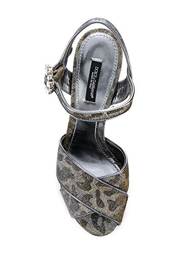 Pelle Sandali Dolce Donna oro Argento amp; Cr0644au64787626 Gabbana nAnWFpO