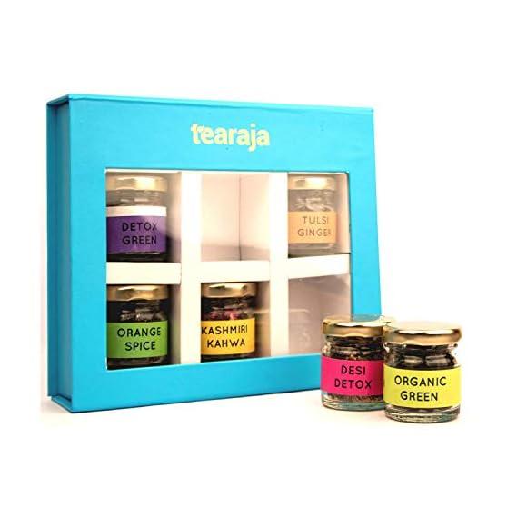 Tearaja Aqua Gift Box | 6 Teas to Boost Your Immune System | Get Stronger Immunity