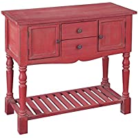Hekman Furniture 27682 Red Lowboy