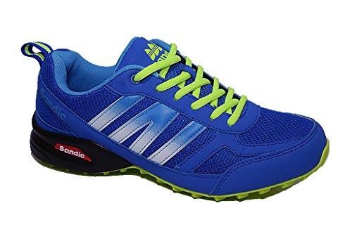 Les Hommes Sandic Chausse Espadrilles Chaussures De Sport Pantoufle Bleu / Vert